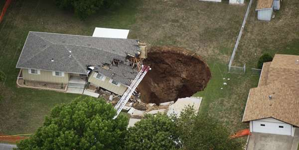 how to avoid sinkholes in florida